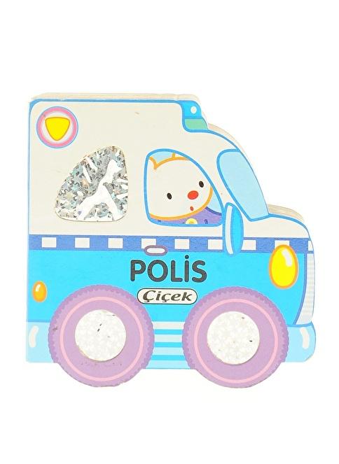 Çiçek Yayıncılık Küçük Arabalar Dizisi-Polis Renkli